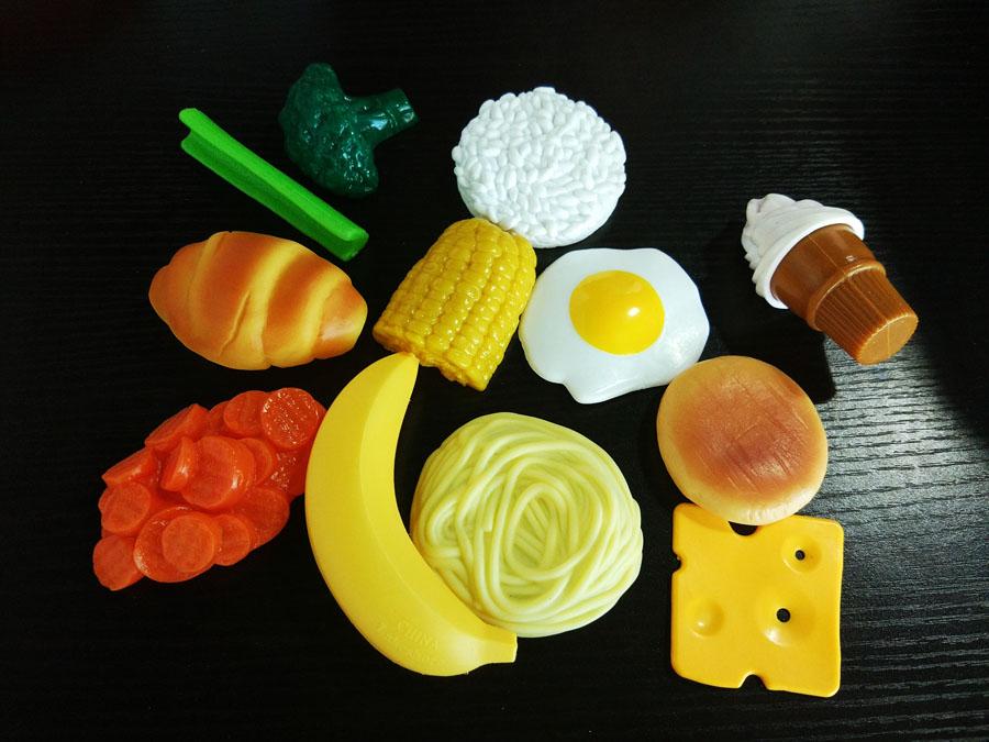 食物仿真教具