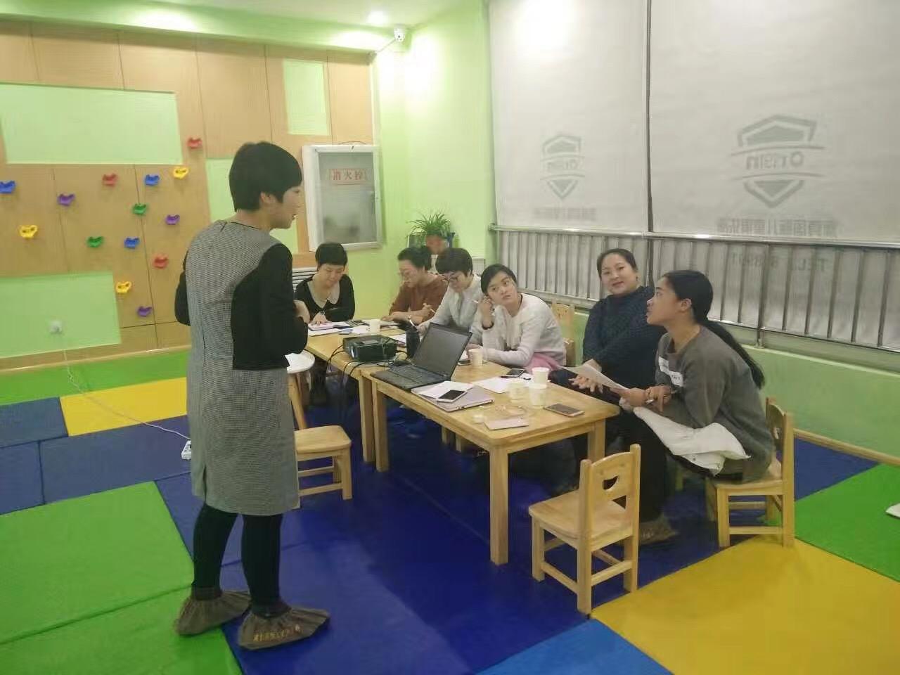 澳真国际儿童俱乐部第72期早教师培训开展中